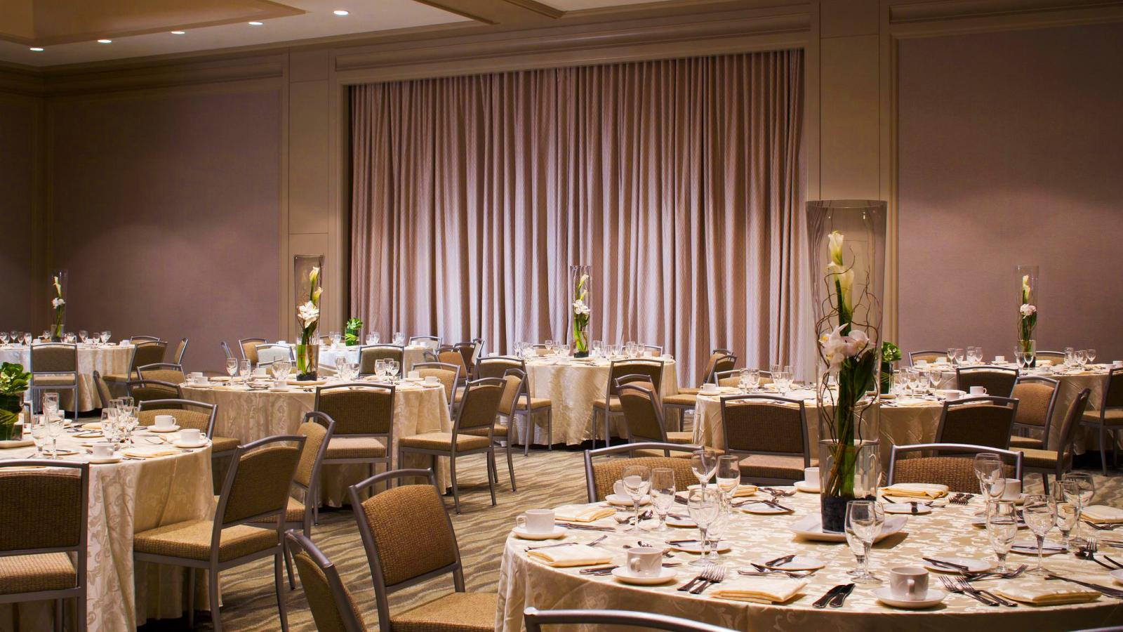 Reception Setup | The Westin Tampa Waterside