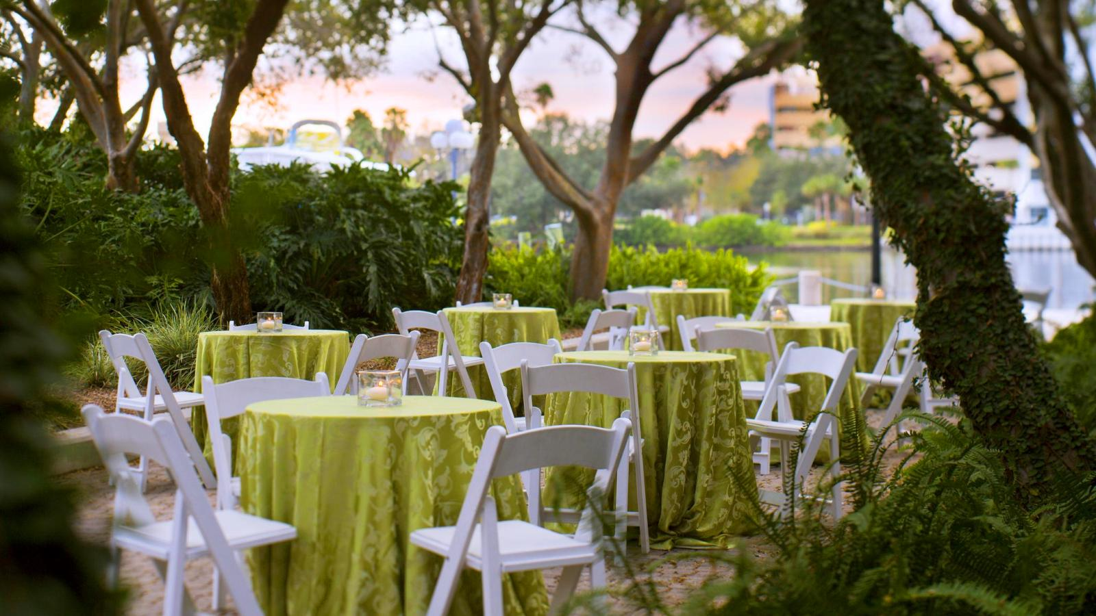 Outdoor Reception | The Westin Tampa Waterside