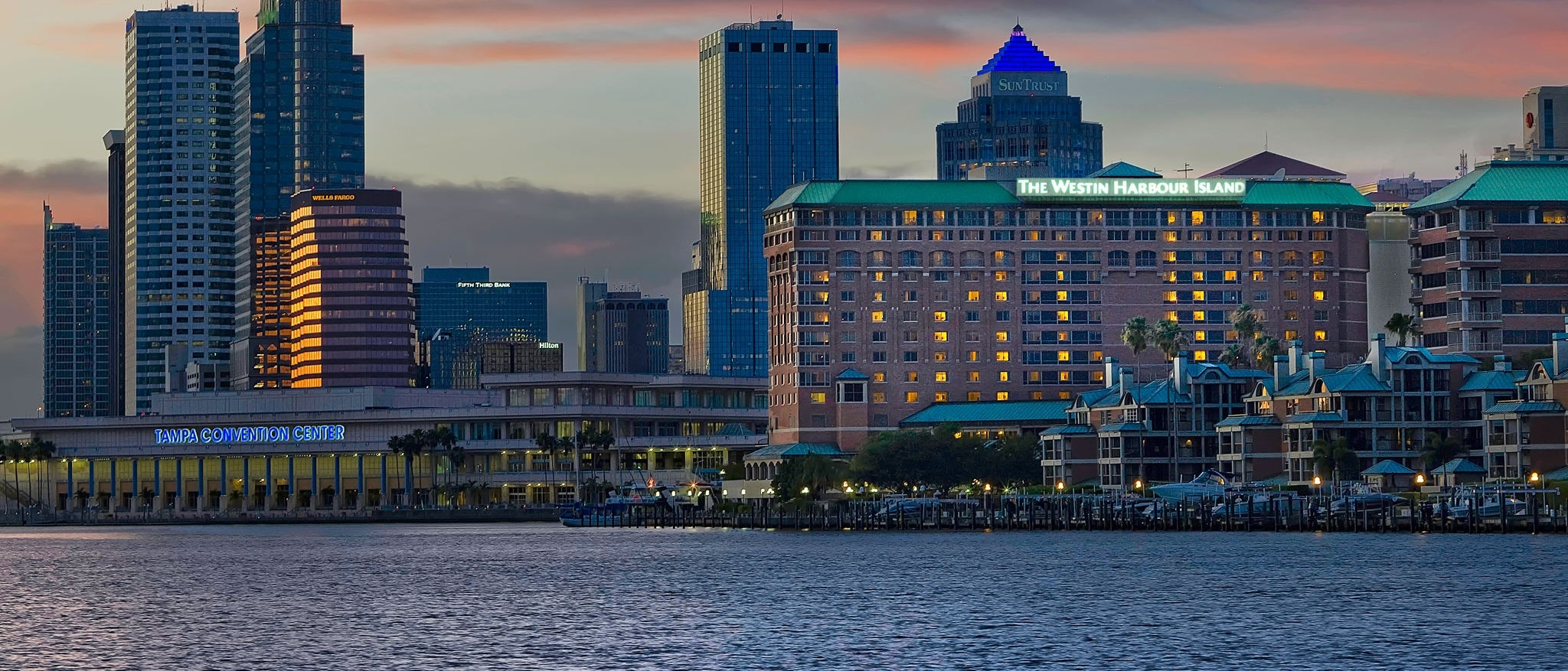 The Westin Tampa Harbour Island - Tampa Skyline